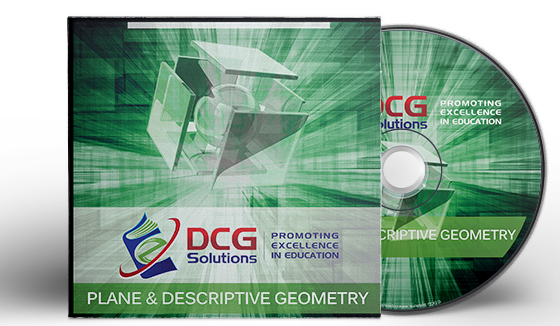 DCG Solutions Student Package E-book – Plane & Descriptive Geometry